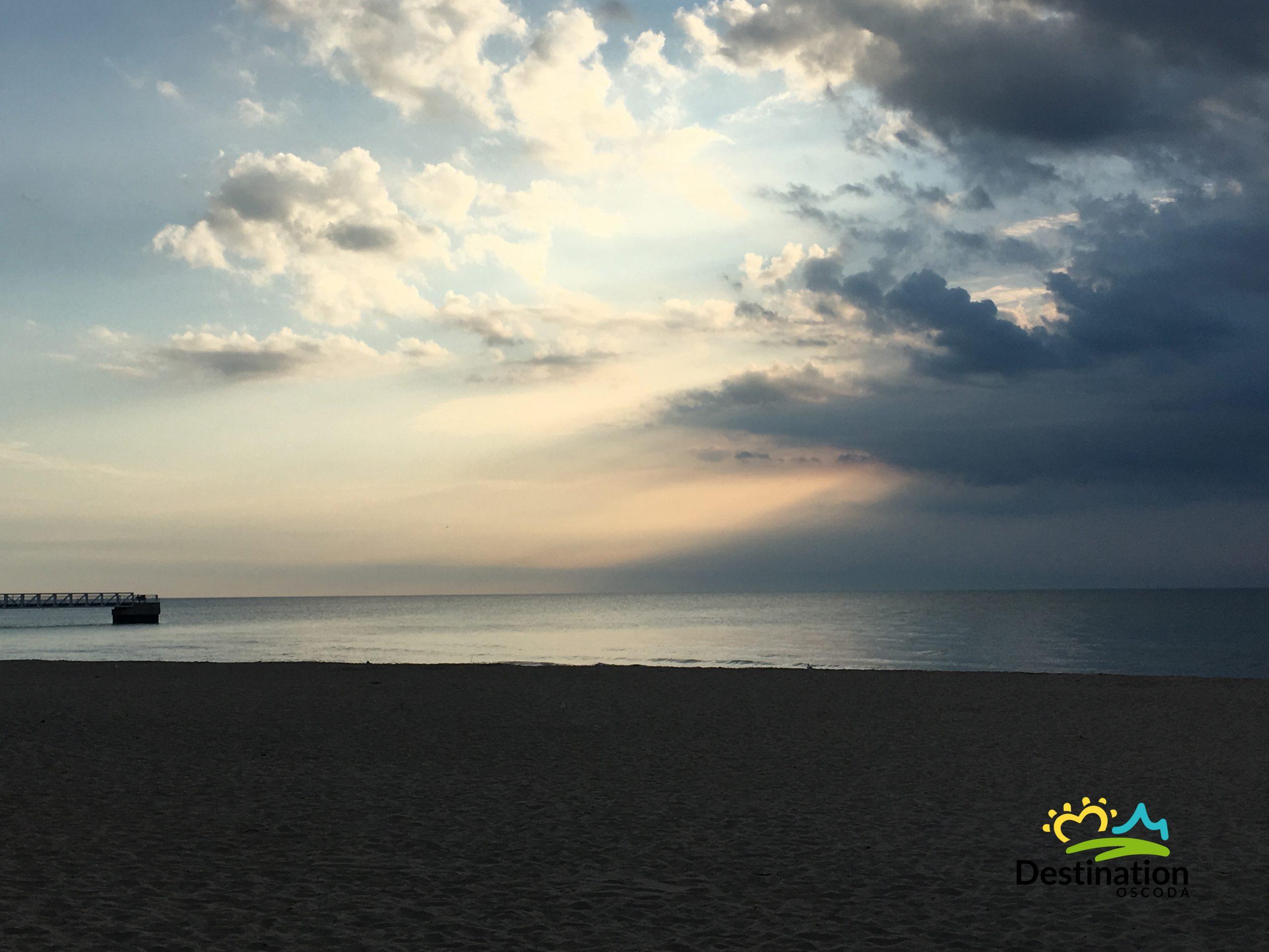 Oscoda Beach Park, Summertime